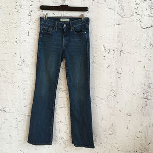 GAP 27S PERFECT BOOT JEANS